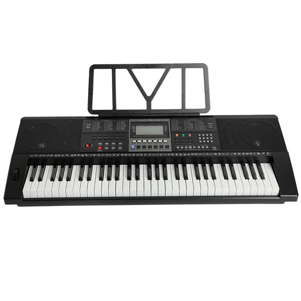 YM-928 Electronic Piano Intelligence Keyboard 61Keys For Teach Multifunctional Instrument