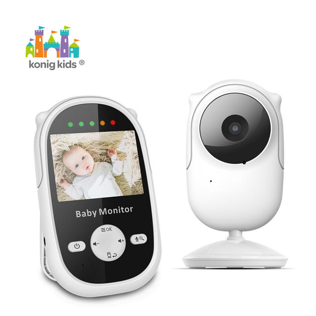 "Smart Wireless Digital Music Monitor With 2.4"" TFT LCD Night Vision Baby Monitor"