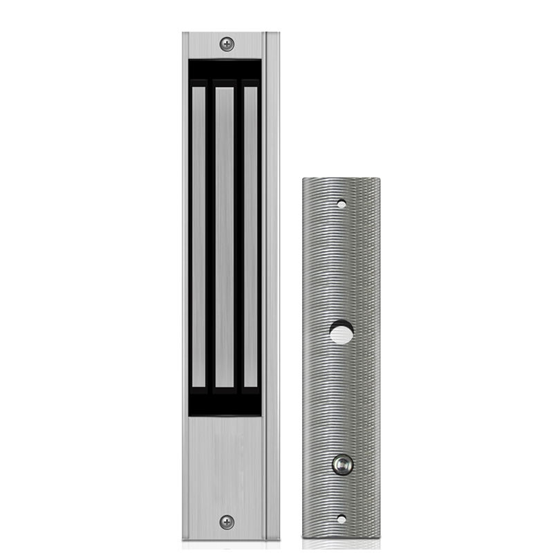Magnetic Lock electromagnetic door lock, with Signal Output, 600lbs Holding Force, magnetic holder EL-600SD
