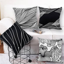 Cheap Custom Made Design Printing Polyester Cotton Cushion For Home Sofa Seat Decorative