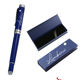 Navy blue business pen+box sets for men doctors gift items luxury fountain pens with matching box signature roller pen gentleman