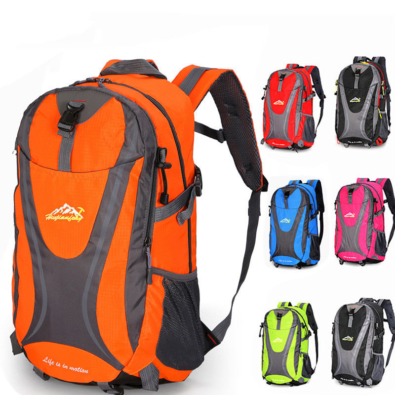 Y0123 Wholesale camping hiking travel bagpack waterproof camping outdoor mountaineering backpacks