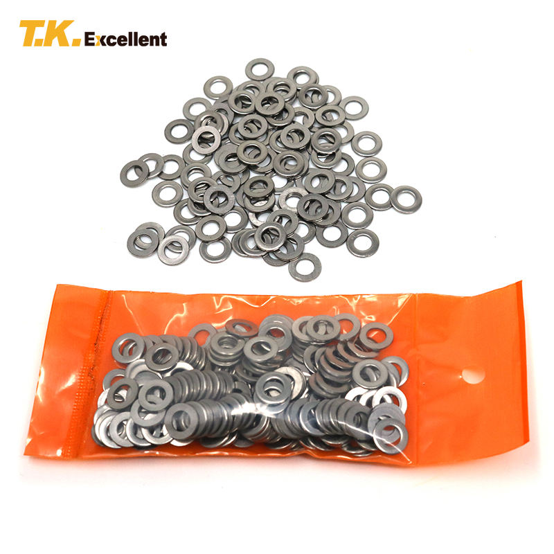 Washer Flat Specializing Stainless Steel Wash Passivition Flat Washer Gasket M4