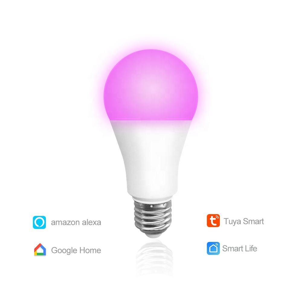 Fabrikant Amazon Leverancier Smart Lamp Intelligente Led Lamp Rgb <span class=keywords><strong>Dimbare</strong></span> Gloeilamp Smart Led Wifi