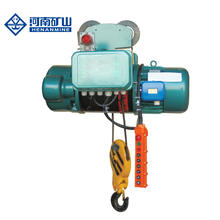cd european mode cable motor lifting trolley building wireless remote control 1 2 3 5 10 ton electric crane rope hoist winch