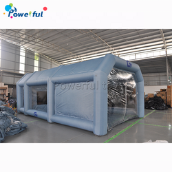 Inflatable Car Spray Booth Paint Tent Car Paint Anti-UV Filter System Moisture-proof