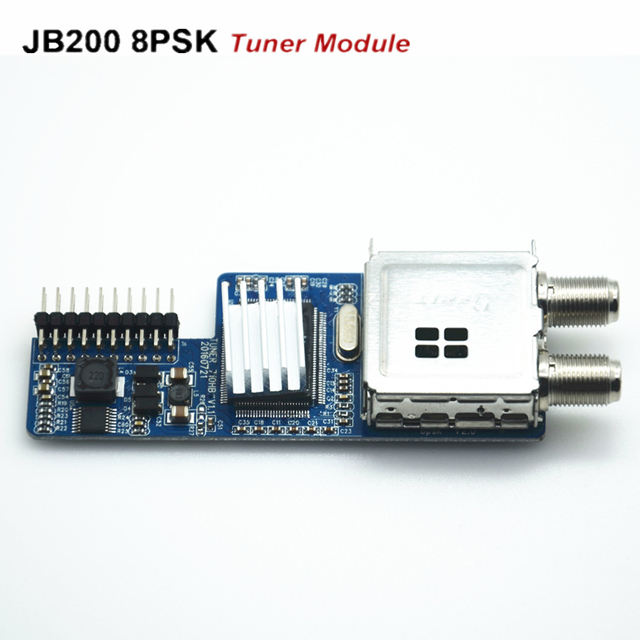 2020 Hot Selling DVB-S2 8psk Twin Tuner JB200 Satellite Receiver for Jyazbox V20 v30