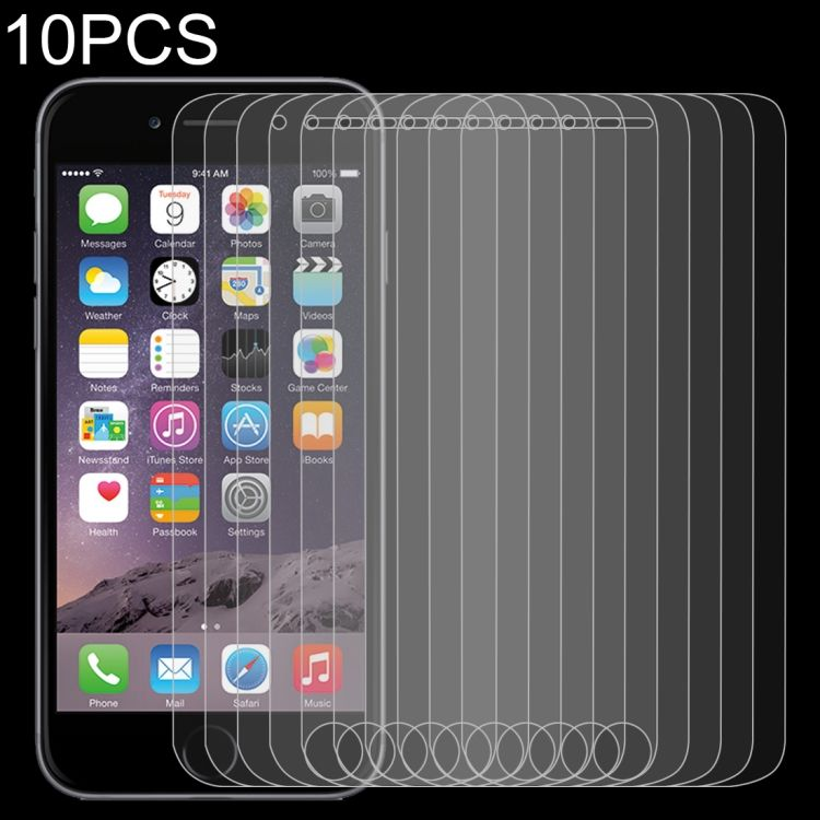 Cheapest Price 10 PCS 0.26mm 9H 2.5D Tempered Glass Film for iPod touch 6