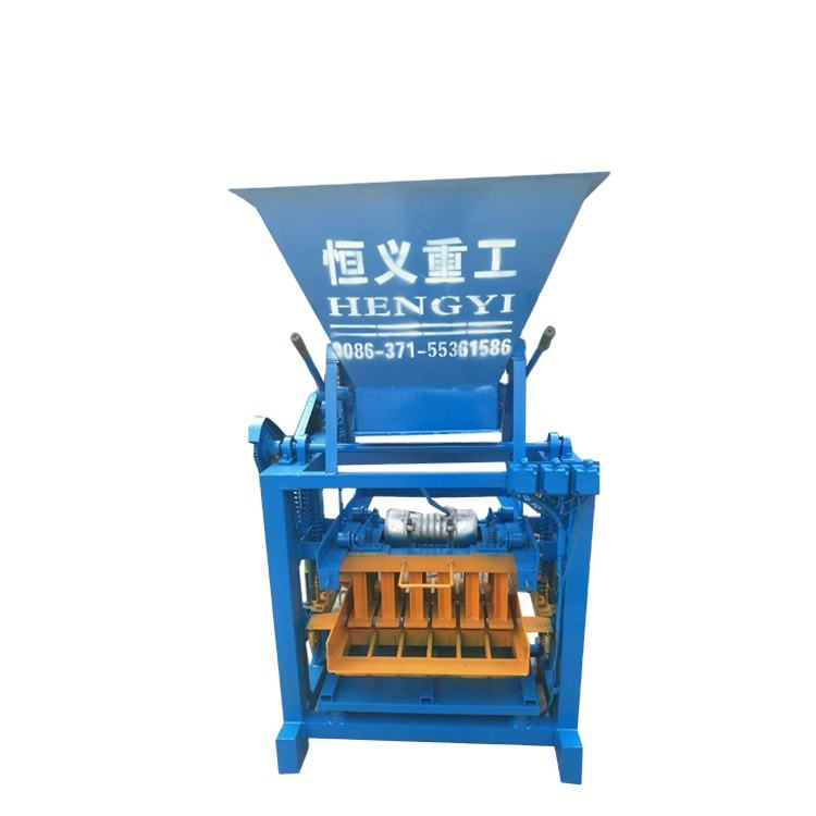 High quality QT4-35B semi automatic concrete fly ash brick block making maker machine machinery for sale
