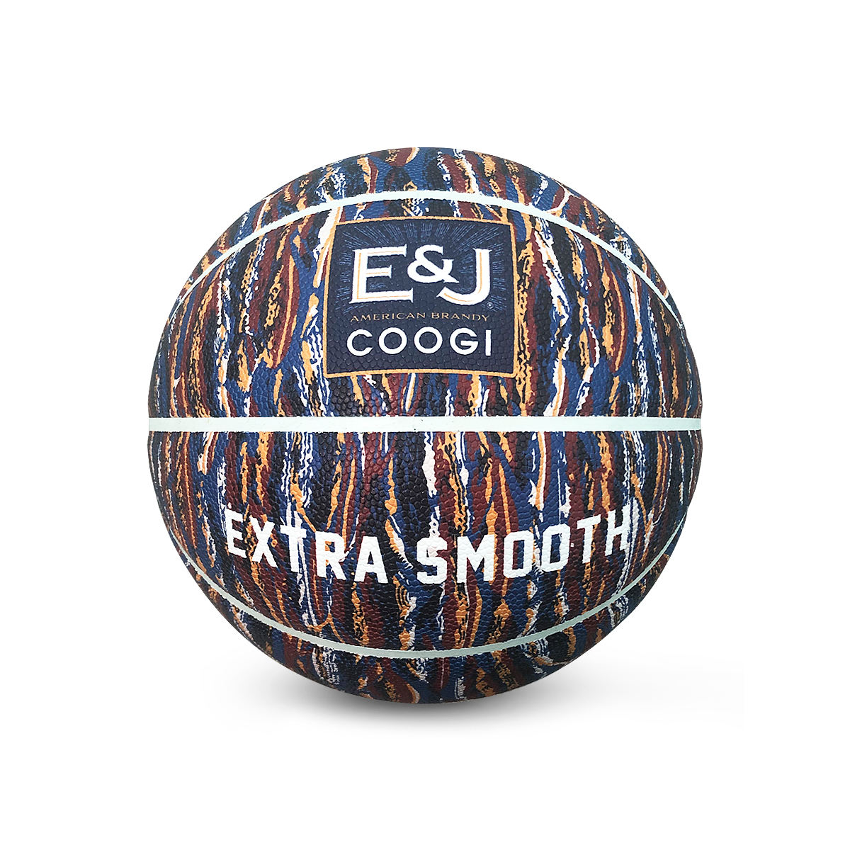 Overall digital printing leather art basketball for decorations for custom design as art
