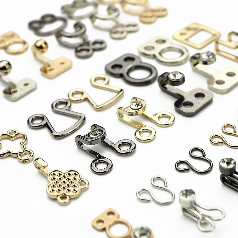 Most popular products garment hook and eye/pants dress hook and eye