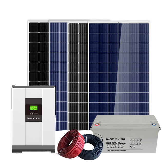 A series of electric 1000kw off grid power station 1mw 2mw solar system in USA