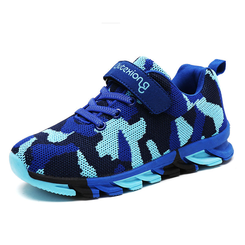 Stylish Blade Casual Sneaker Camouflage Children Shoe Baby Shoe Cheap Wholesale
