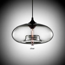 Nordic Modern hanging loft Glass Pendant Lamp industrial decor Lights Fixtures