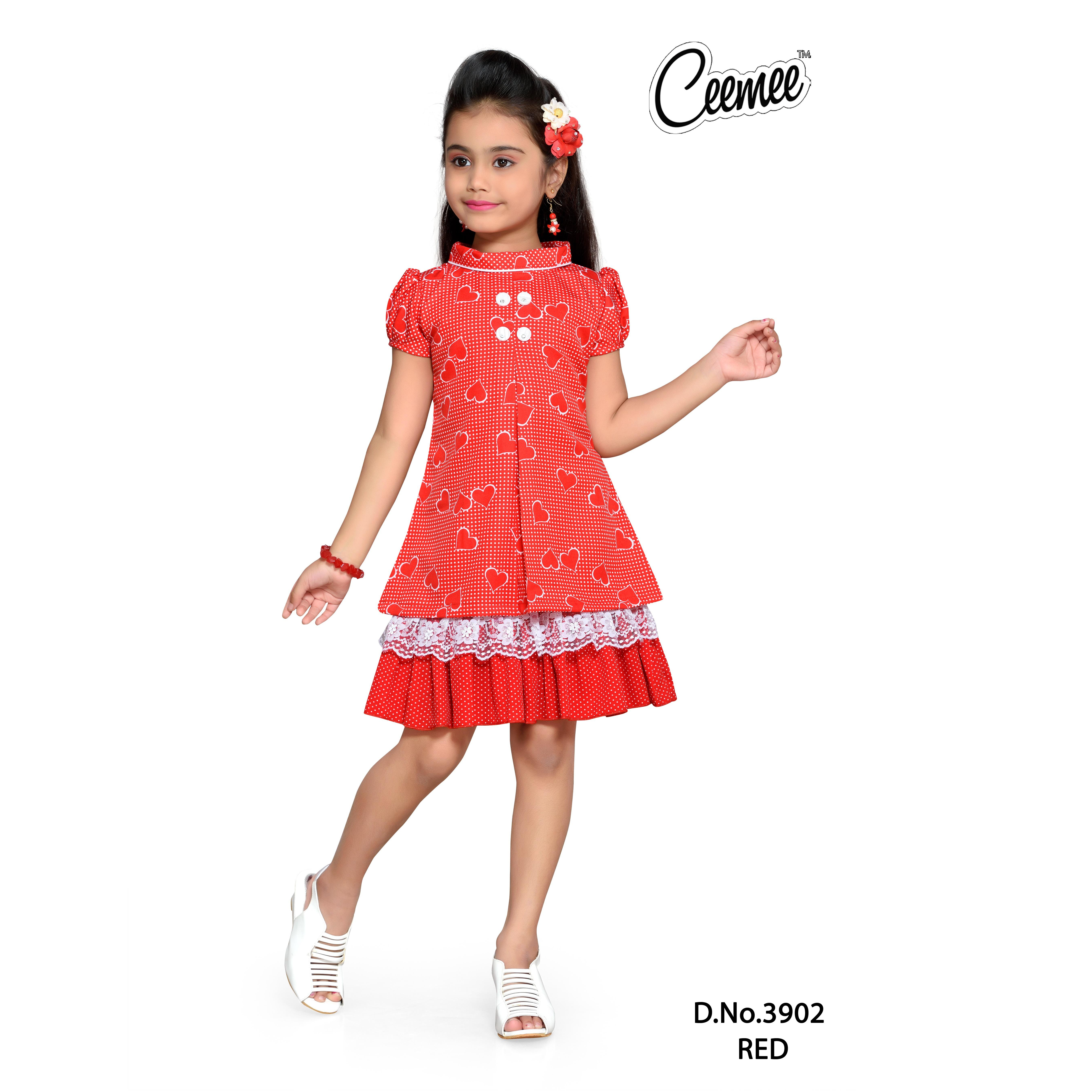 Daily Wear Girls Cotton Frocks Buy Girls Cotton Frock Designs Latest Frock Designs For Girls Baby Cotton Frocks Product On Alibaba Com