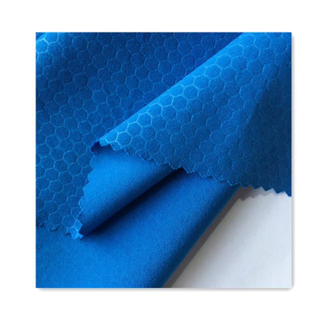 <span class=keywords><strong>4</strong></span> Way Stretch Polyester Spandex Honeycomb Emboss <span class=keywords><strong>Vải</strong></span>