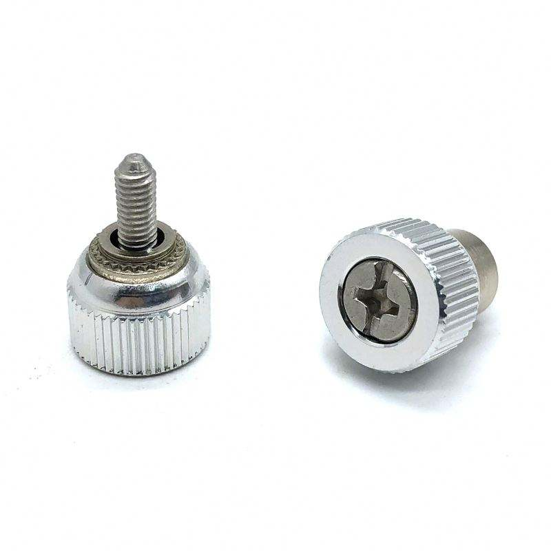 China Manufacturer panel fastener m4 thumb screw captive