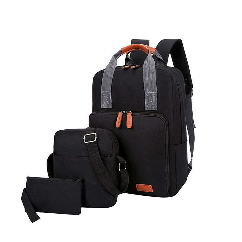 Factory direct supply high quality custom oxford travel bag backpack set