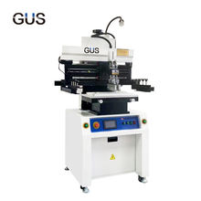 GUS Hot selling smt stencil printer High Quality Solder Paste Silk Screen Printer pcb printing machine