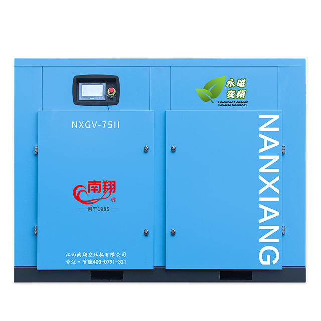 75kw 102hp Gratis Pengiriman Udara 10M 3/Min 353cfm Tekanan Kerja 174psi 12bar Rotary Screw Air Compressor