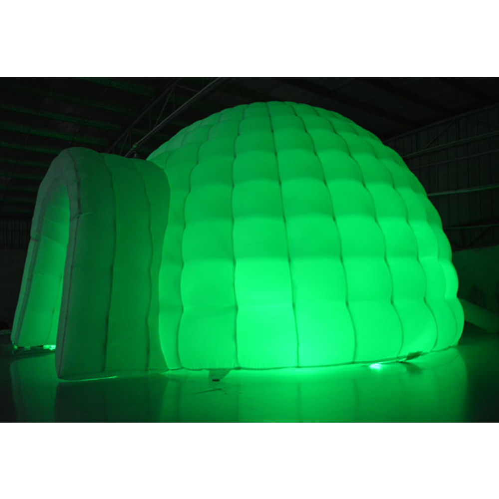Sự Kiện Ngoài Trời Giant LED Light <span class=keywords><strong>Inflatable</strong></span> Tent Từ HNJOYTOYS Inflatables