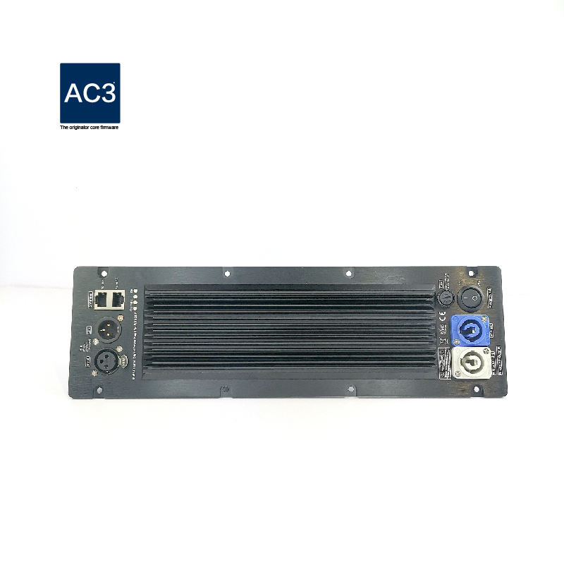 1300W Subwoofer Amplifier Module Professional Speaker Plate Amplifier Class D with DSP Audio Processor