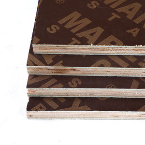 18mm Brown/Black Film Faced Hardwood Plywood For Building Construction