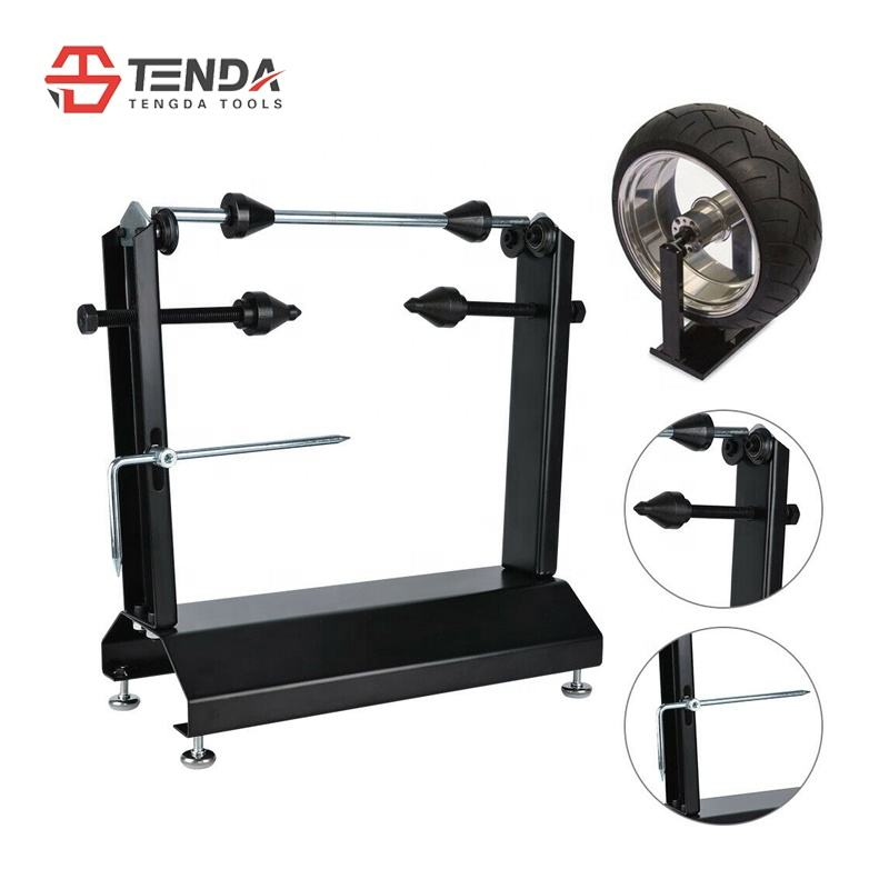 TD-004-06 Motorcycle wheel balance stand Motorcycle Tire change wheel balance and repair stand