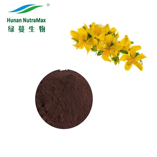 Natural High quality Hypericum perforatum Extract Powder, St. Johns Wort Extract, Hyperforin Hypericin