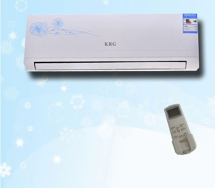 DC 9000BTU Inverter R410a Wall Mounted Split Jenis AC Air Conditioner