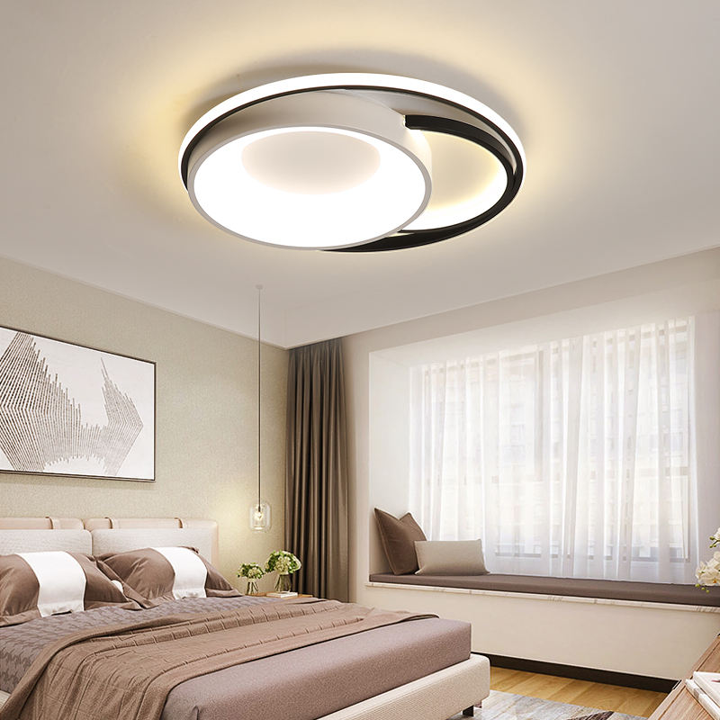 Wholesale modern household dimmable led ceiling light aluminum round acrylic ceiling lamp lighting