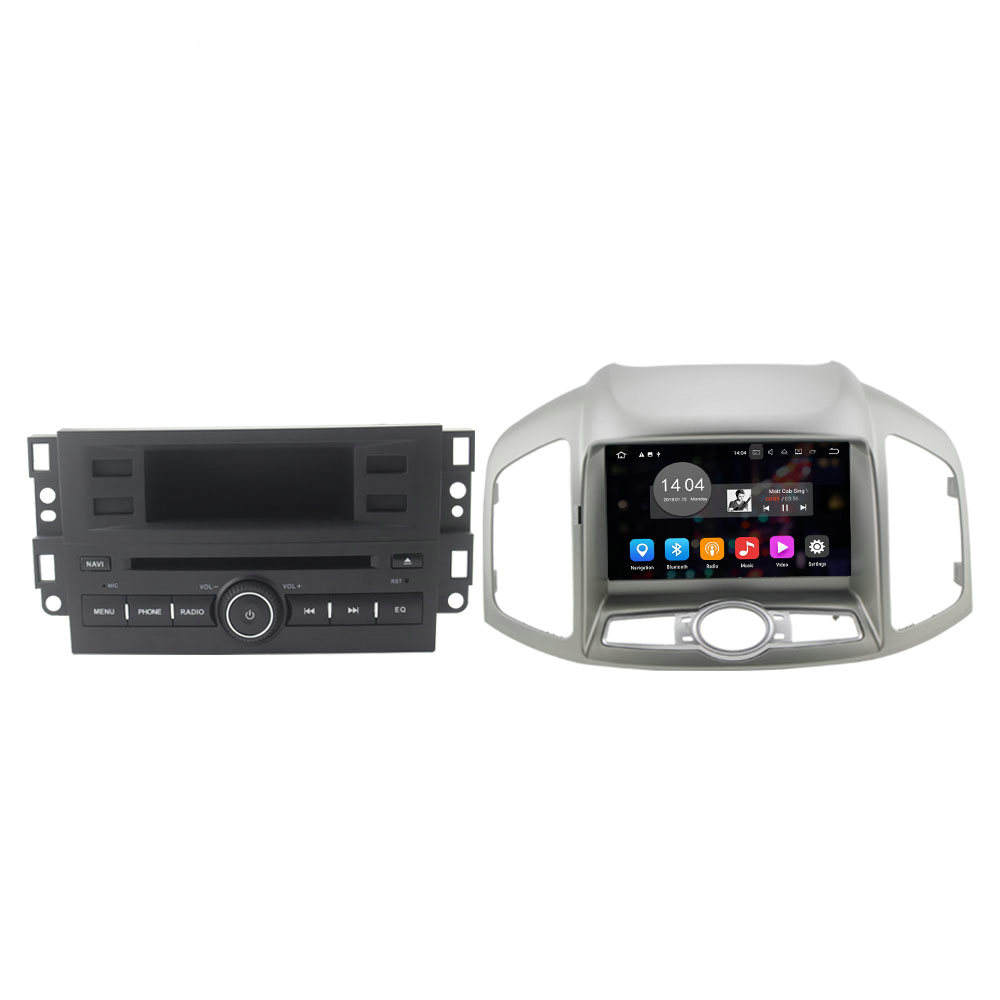 ZESTECH 2din Android 10.0 Car DVD für Chevrolet Captiva 2012 - 2017 Radio Audio Player
