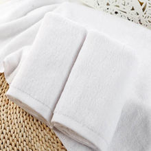 White low price custom 5 Star Hotel stock lot Compressed High Quality 100% Cotton Facial Towel