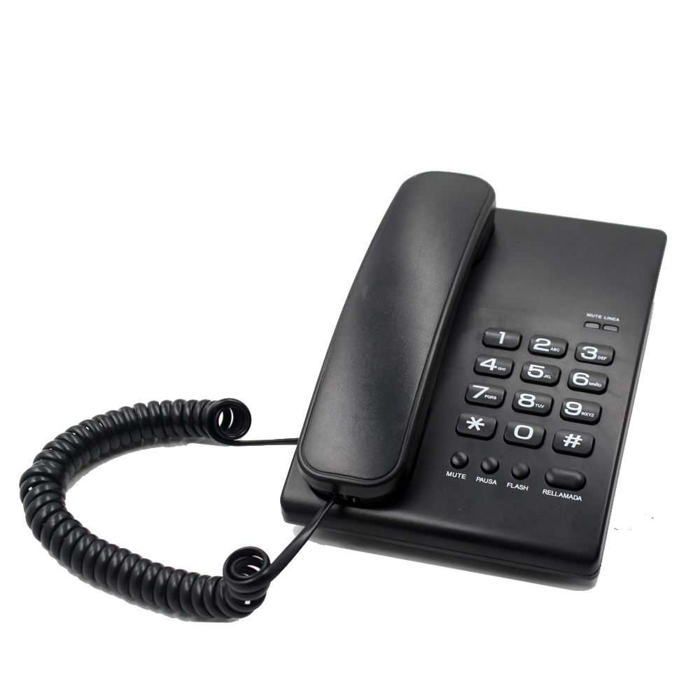 2021New basic landline corded telephone office analog phone with low cost