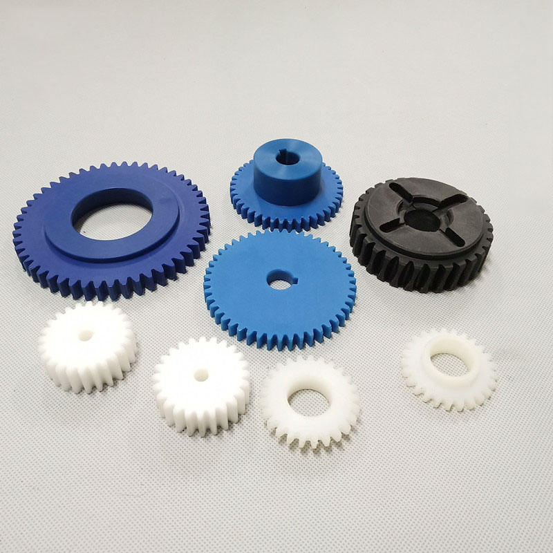 Customized nylon bevel gears Excellent mechanical properties spiral bevel nylon helical gears
