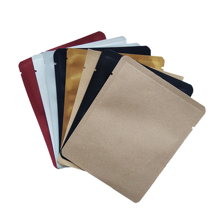 personnalisable à trois côtés d'étanchéité filtre anti-goutte suspendue oreille filtre à café extérieur scellé sac d'emballage