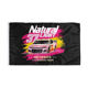 Naturdays NASCAR Natural Light Beer Flag Banner Size 3X5 Feet Man Cave
