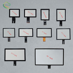 Screen touch China up to 65 inch industrial PCAP touch screen 7 8 8.4 10.1 15.6 21.5 24 inch touch screen panel capacitive