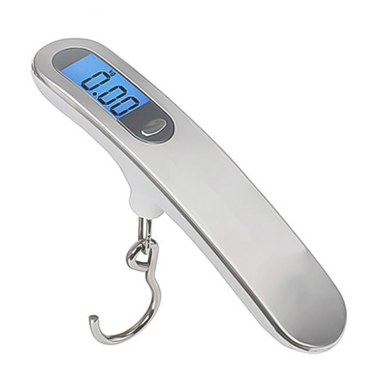 Stainless Steel 50kg Baggage Portable industrial metal detectors ABS metal digital hanging luggage scale wholesale