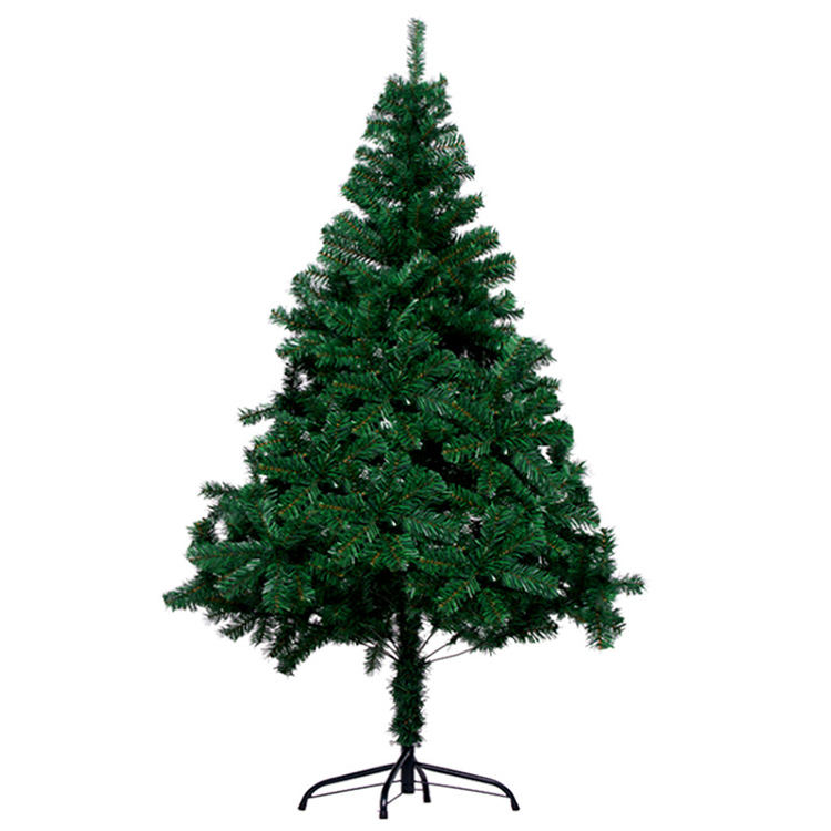 1.8 meters encrypted Christmas tree 1.5 meters 2.1 meters simulation green DIY naked tree scene layout Christmas decorations