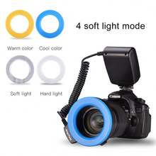 Hot Selling Camera Flash Light RF-550D Speedlite LED Flashing Light Auto Zoom For Canon Nikon Ring Flash Light