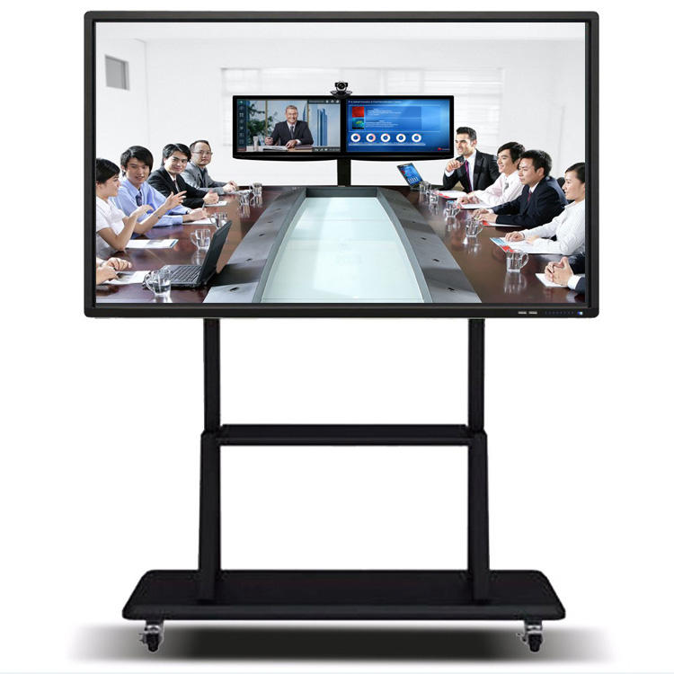 65 inch all in one pc touch screen multimedia teaching conference machine