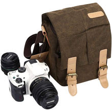 2020 Customized Waterproof Video Camera Bag Compatible With DSLR SLR Messenger Camera Bag
