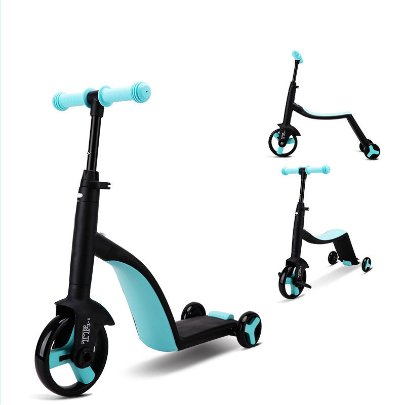 3-in-1 Ride On Balance Trike 3 Wheel Scooter