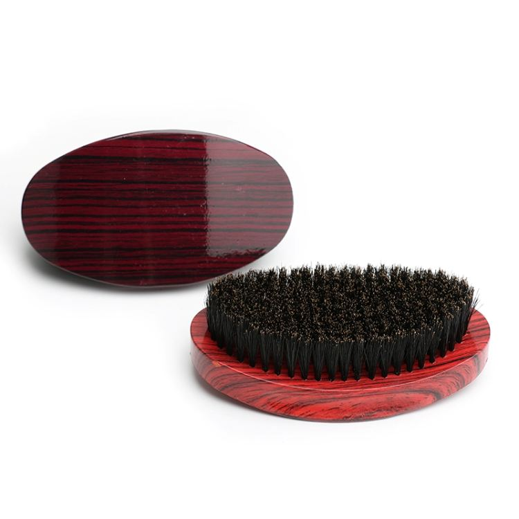 wholesale custom high quality designer private label logo bristle man waving hair curve brush for waves