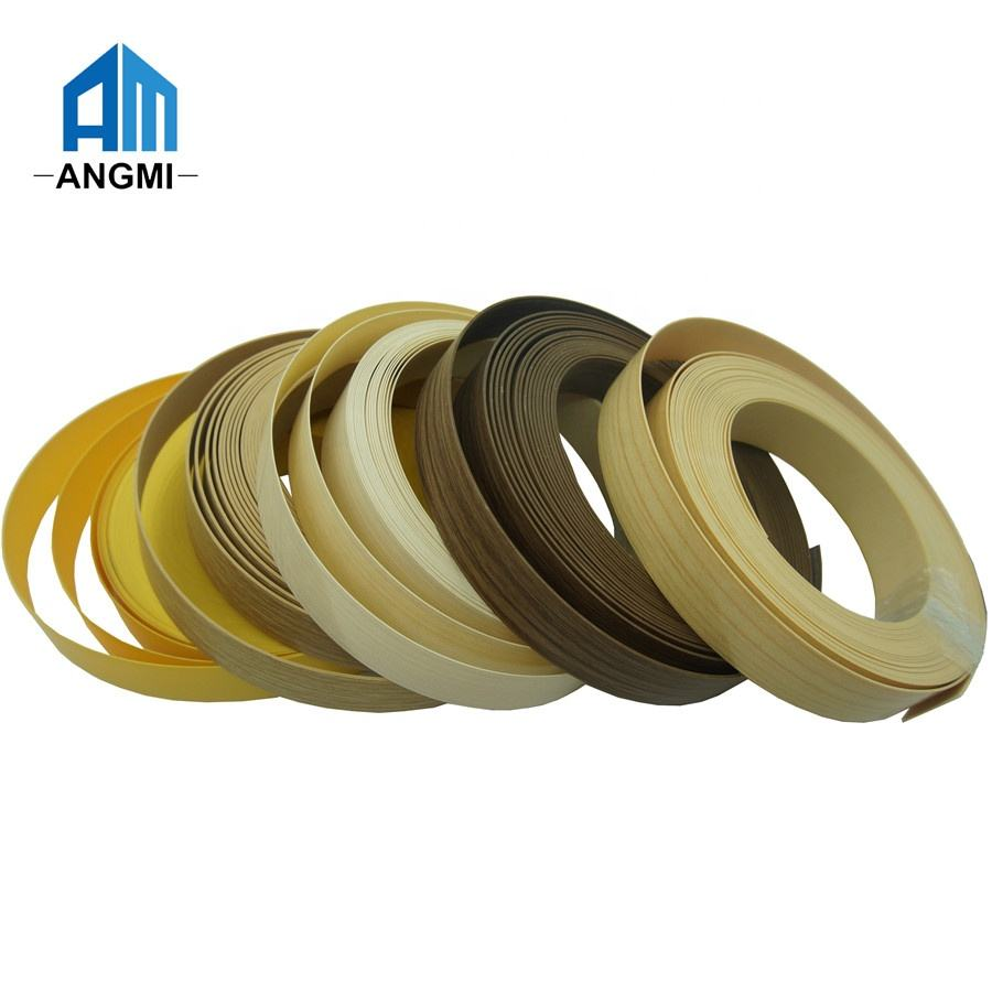 furniture accessories PVC Edge Banding High Color Edge Banding Tape for Cabinets