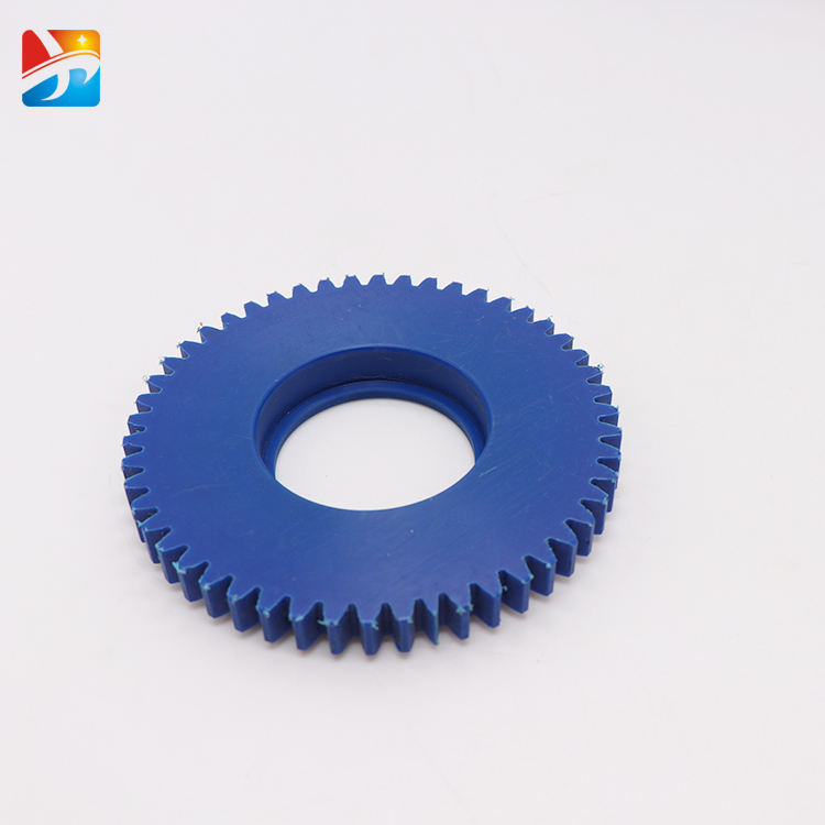 Low price customized color/size corrosion resistance plastic nylon transmission gear