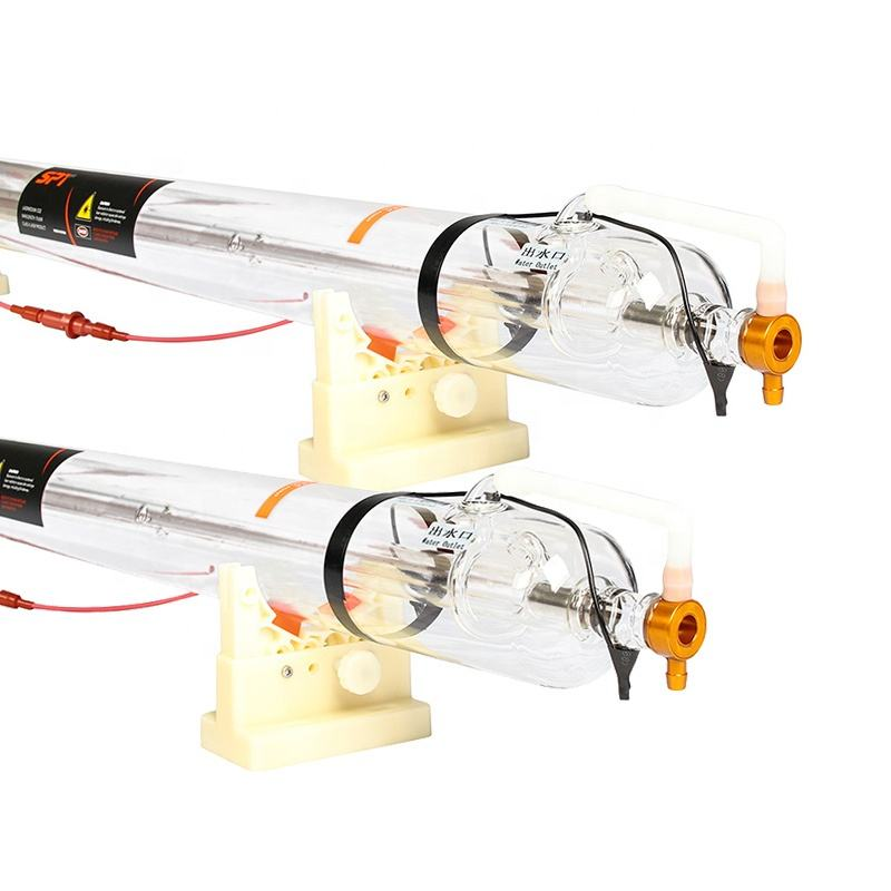 SPT Factory Direct 30W 40W 50W 60W 80W 90W 100W 130W 150W CO2 Glass Laser Tube 150w Replacement