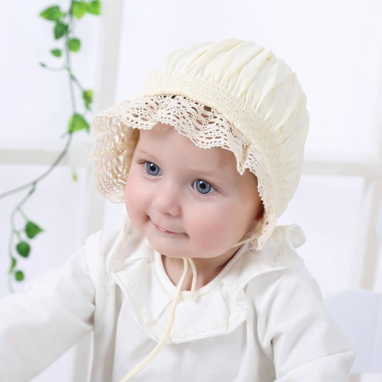 Cute Knit Newborn Baby Cap with Ears Cartoon Baby Bonnet Enfant Hat for 0-8 Months Boys Girls 1 PC