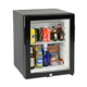 0db Silent Branded Bedroom Glass Door Minibar Fridge For Hotel